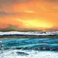 Seascape Abstract 11H by I.M. Spadecaller