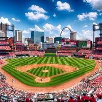 """Busch Stadium Section 249"" by CHApperson"