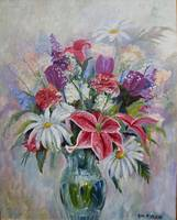 Valentine Bouquet  24Wx30H-2 oil