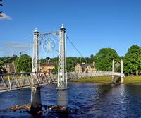 Foot Bridge across Inverness River
