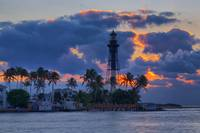 Hillsboro Inlet Light at Dawn