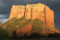 Storm Clouds in Sedona by Carol Groenen