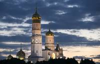 Churches of Moscow Kremlin Russia