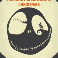 """No712 My The Nightmare Before Christmas minimal mo"" by Chungkong"