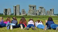 Stonehenge Happy CarefreeTeen Friends Mystical
