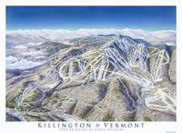 Killington 1990 trail map image