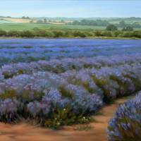 """""""Layers of Lavender"""" by soniakane"""