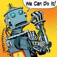 robot we can do it