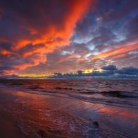 Cape Cod National Seashore Sunset Wellfleet Art Prints & Posters by Dapixara Cape Cod Art Photography
