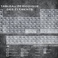 """Tableau Periodiques Periodic Table Of The Elements"" by RubinoFineArt"
