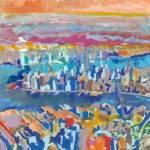 """New York Metro, Brooklyn Manhattan Jersey City"" by RDRiccoboni"