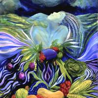 """""""Harvest Moon"""" by Jane_Evershed"""