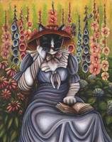 Cottage Garden Cat