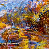Flowing River Abstract 2 Art Prints & Posters by Alexandra Zloto