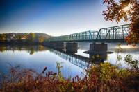Autumn Morning View Of The New Hope Lambertville B