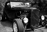 Roadster in Black and White