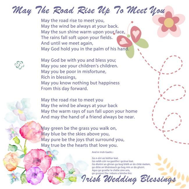 The Irish Wedding Blessing By Motionage