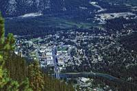 Banff from Above by Priscilla Turner