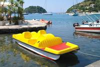 Yellow pedalo, Paxos