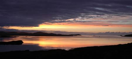 Lochmaddy sunrise