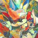 """Iris Flower Bouquet"" by RDRiccoboni"