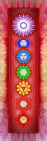 The Seven Chakras - Series 6 Artwork 2-2