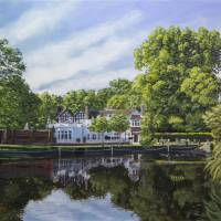 Honeywood Museum Carshalton Ponds Art Prints & Posters by Raymond Ore