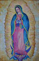 Our Lady of Guadalupe Madonna Virgin Mary Artwork