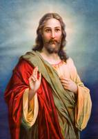 Jesus Christ Blessing Catholic Picture Christian