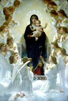 Virgin Mary and Child Our Lady of the Angels Art