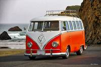 VW Surfer Bus 'Against the Tide'