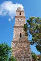 Clock tower, Halki island