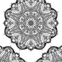Heart Mandala 26 Art Prints & Posters by Karyn Lewis