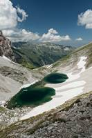 Pilato lake on the Sibillini mountains