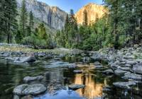 Day 16 - El Capitan Sunset from Merced River 1 sm