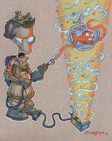 American Dad: Roger Ghostbuster