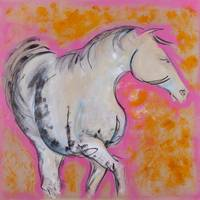 Pink Horse Lady
