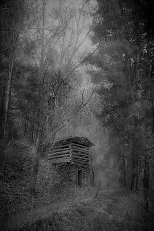 """""""Tobacco Barn on a Hill"""""""