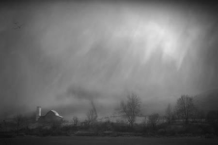"""""""The Classic Barn Silo"""" Fines Creek, NC"""