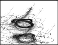 """Birds Nest"" Black on White by Joe Gemignani"