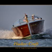 Hacker-Craft Boat Art Prints & Posters by Daniel Teetor