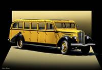 1937 Whites Touring Bus