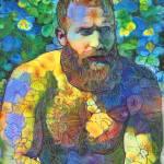 Vincent Van Garden Bear by RD Riccoboni