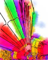 Bright Colored Balloons by Kirt Tisdale