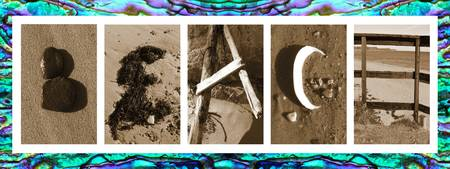 Beach Letters on Abalone