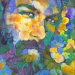 Garden Flower Bear by RD Riccoboni