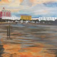 Sunset At Marina Jack's Sarasota, Florida Art Prints & Posters by Lloyd Dobson