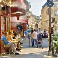 Paris Streetscape