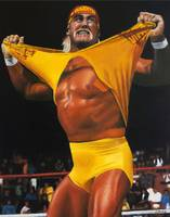 Hulk Hogan Oil on Canvas