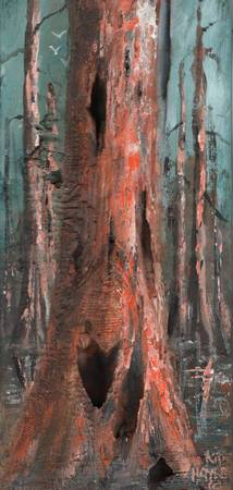 GOLDEN CYPRESS   KIP HAYES ART
